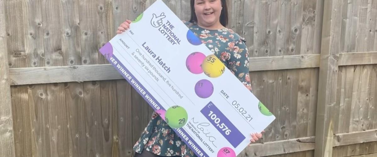 Laura Hatch gana más de 100 mil libras en el Euromillones