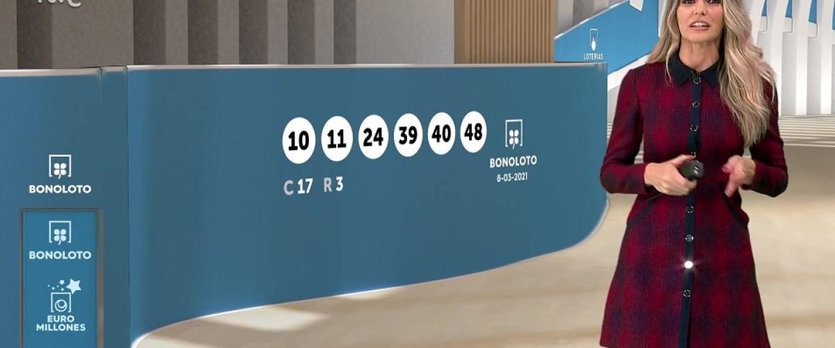 La Bonoloto entrega tres premios de segunda categoría de 72.424 euros