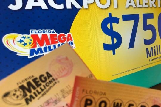 El bote del Mega Millions alcanza la friolera de 750 millones de dólares