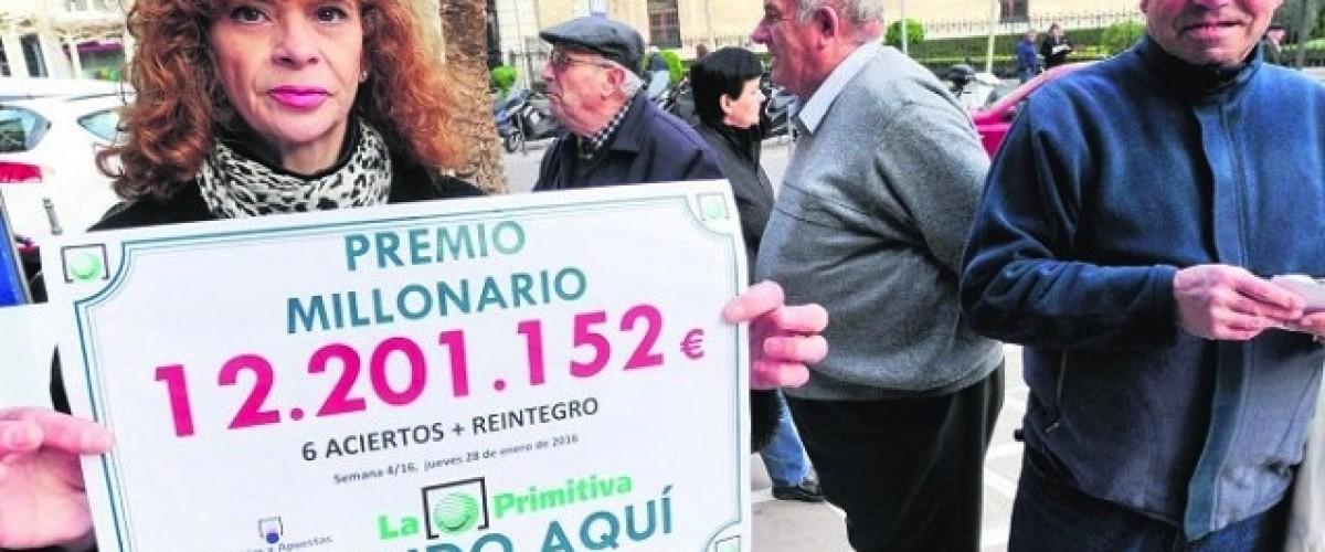 Un jienense se lleva más de 12 millones de euros en el sorteo de la Primitiva