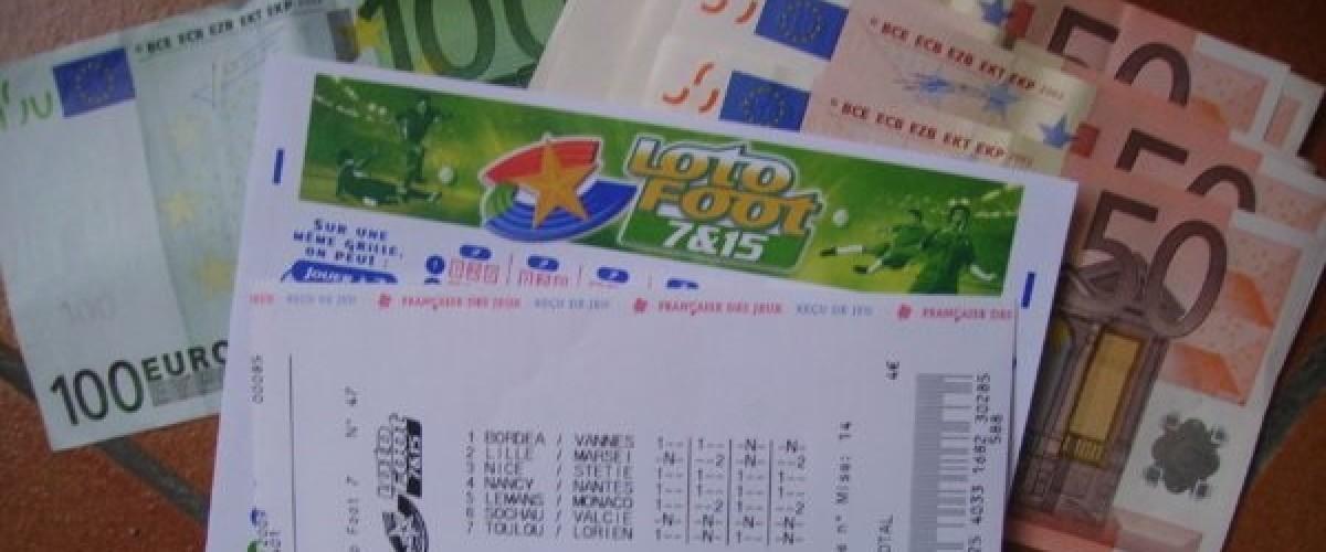 Loto Foot 15: des gagnants en cascade pour un magot de 2 millions