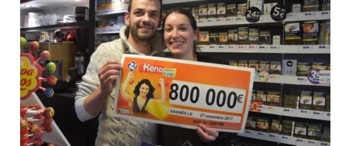 Habitué du Keno, il rejoue son remboursement et décroche 800 000€