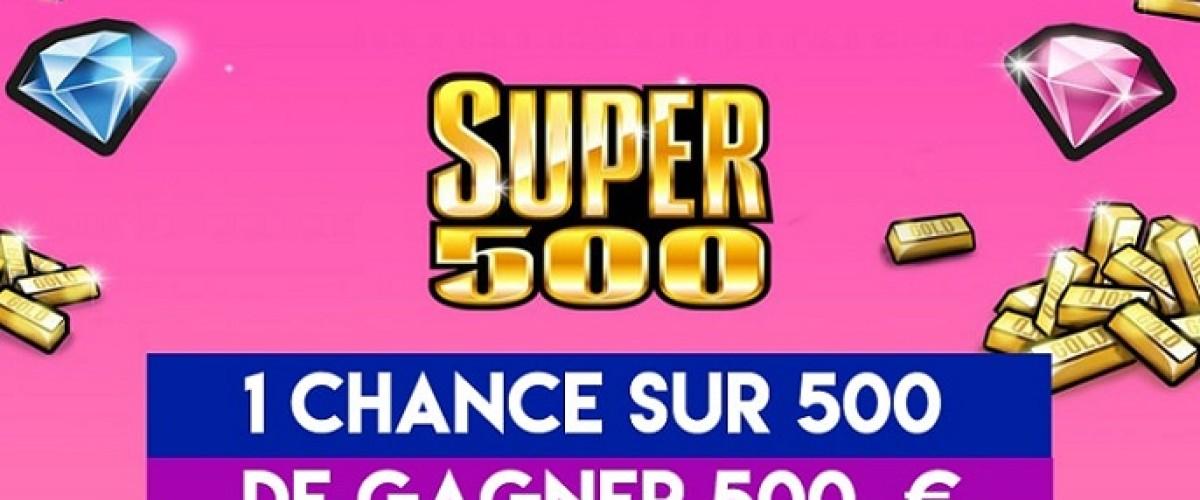 Nouveau ticket Super 500 : le « petit joueur » du grattage débarque en France