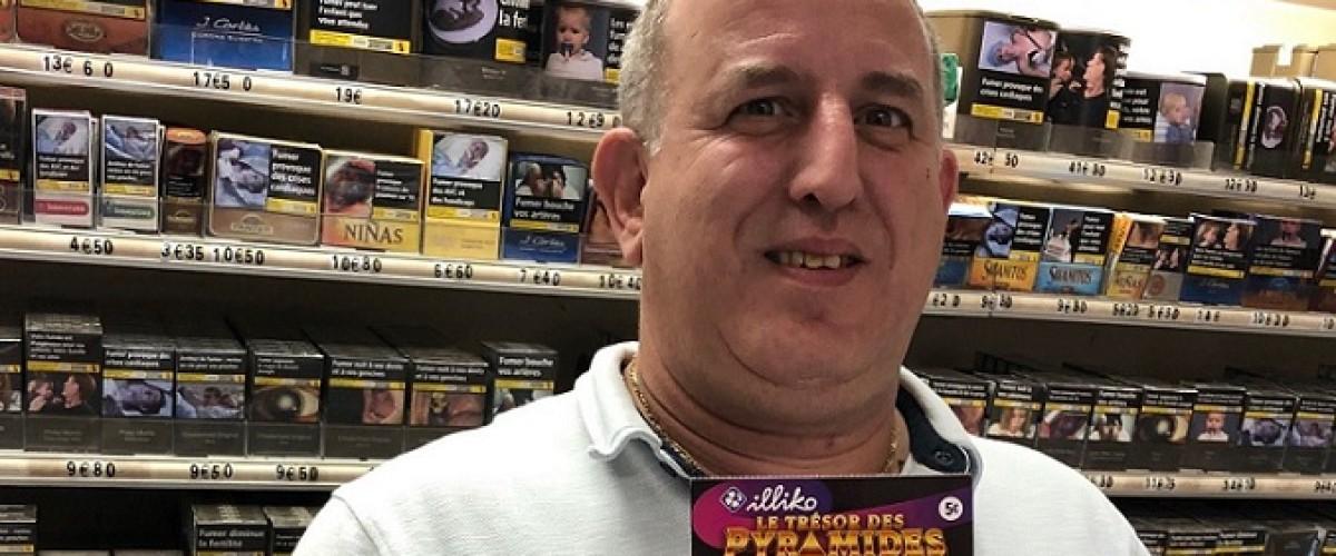 Il remporte 25 000€ sur un ticket Trésor des Pyramides reçu en cadeau d'anniversaire