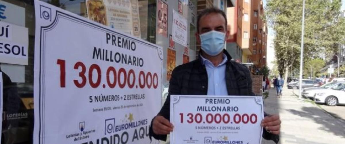 Une grille unique ramène la Super-Cagnotte Euro Millions en Espagne