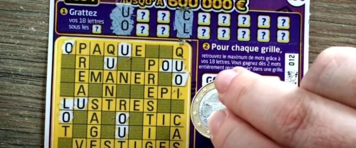 Vent de chance sur le grattage Breton : 600 000€ au Mega-Mots Croisés