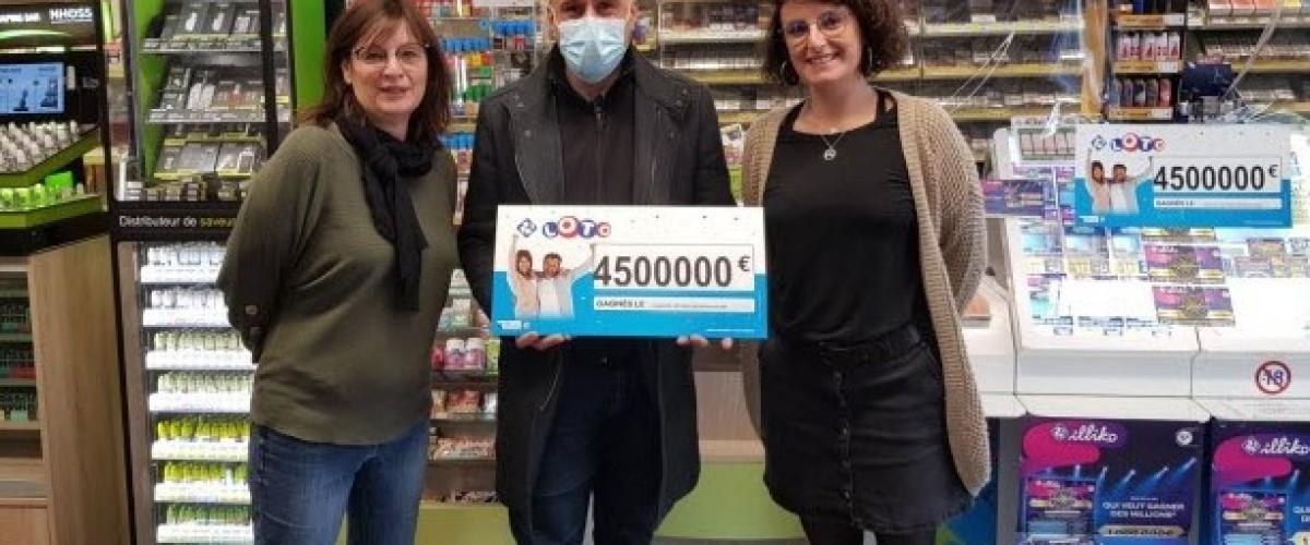Ils croyaient avoir gagné 500€: des Savoyards décrochent 4,5M au Loto