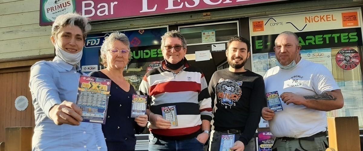 À Aumale (Seine-Maritime) les jackpots du ticket X20 se multiplient