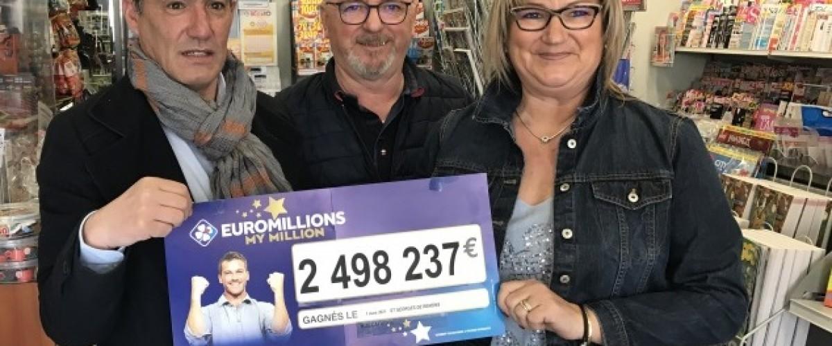 Euro Millions : un Français gagne 2,5M en marge de la Super-Cagnotte