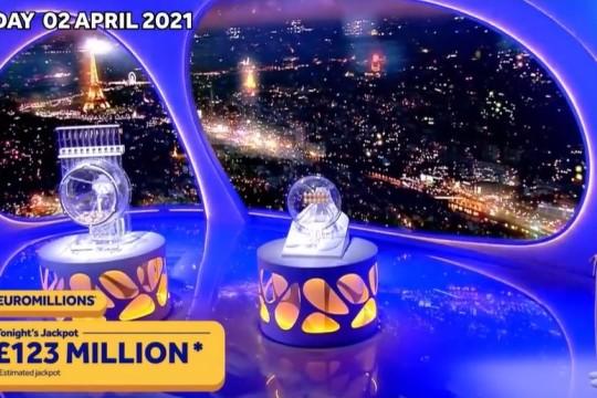 Un bulletin validé au Royaume-Uni arrache la cagnotte Euro Millions
