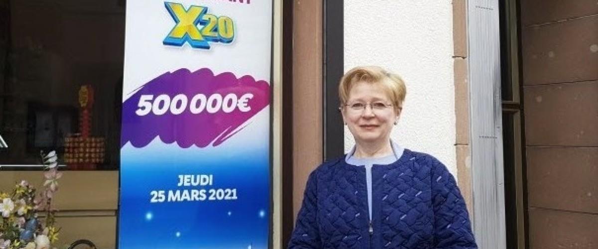 Jackpot du ticket X20: un mosellan anonyme empoche 500 000€