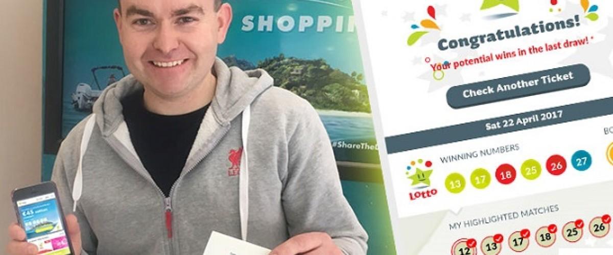 Coppia gioca alla Lotto irlandese online e vince oltre 45 mila euro