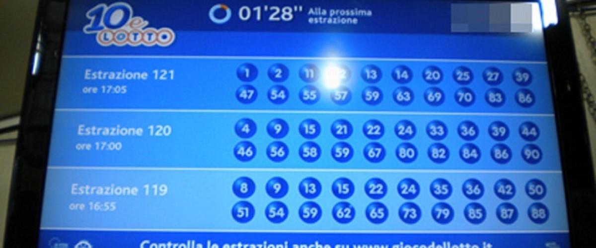 10 e Lotto, due vincite gemelle da 50 mila euro a Roma nel giorno della festa del papà