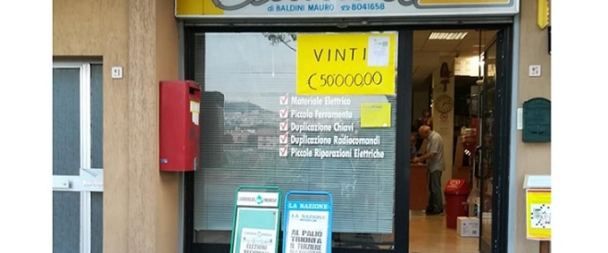 Assisi, un fortunato è stato baciato dalla Dea Bendata e ha vinto 50 mila euro con il 10 e Lotto
