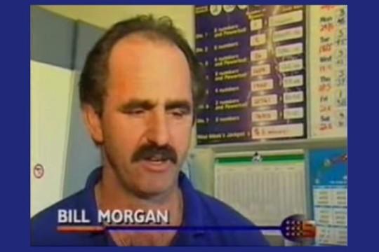 La storia di Bill Morgan, che scampò due volte alla morte e subito dopo vinse due volte alla lotteria