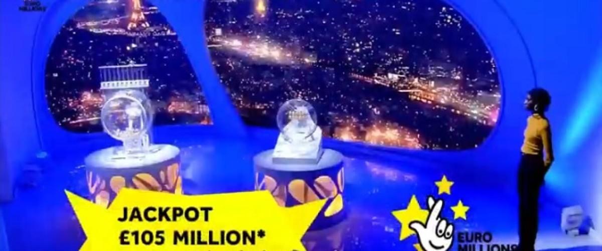 Dal Regno Unito il vincitore del jackpot all'Euromillions del 19 novembre, uno sconosciuto porta a casa 105 milioni di sterline