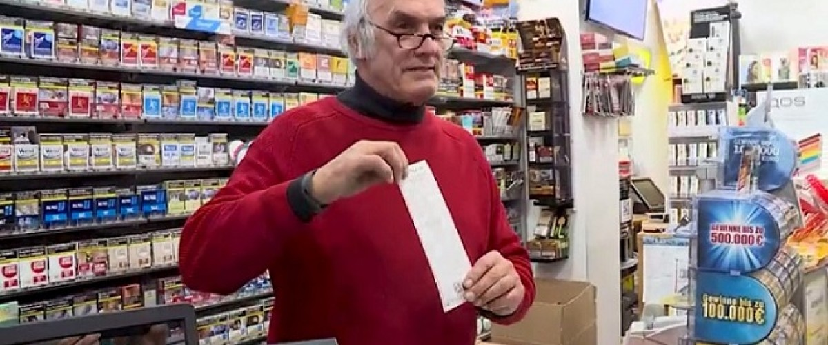 Germania, settantunenne vince alla lotteria ma non può incassare perché è il titolare della ricevitoria che ha venduto il sistema