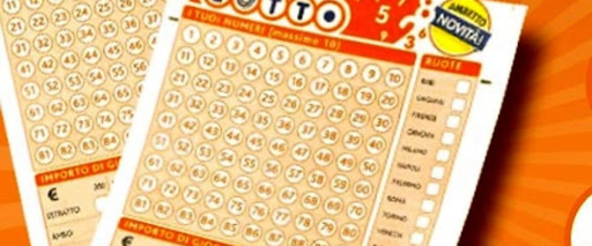 Lotto, sabato scorso centrate due combo con quaterna da 50 mila