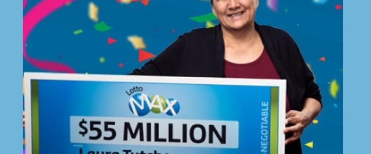 Nonna canadese vince 55 milioni di jackpot al Lotto Max