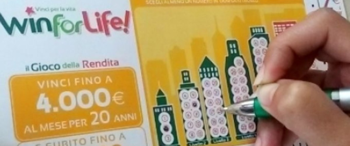 Il Win For Life appassiona gli italiani e regala vincite
