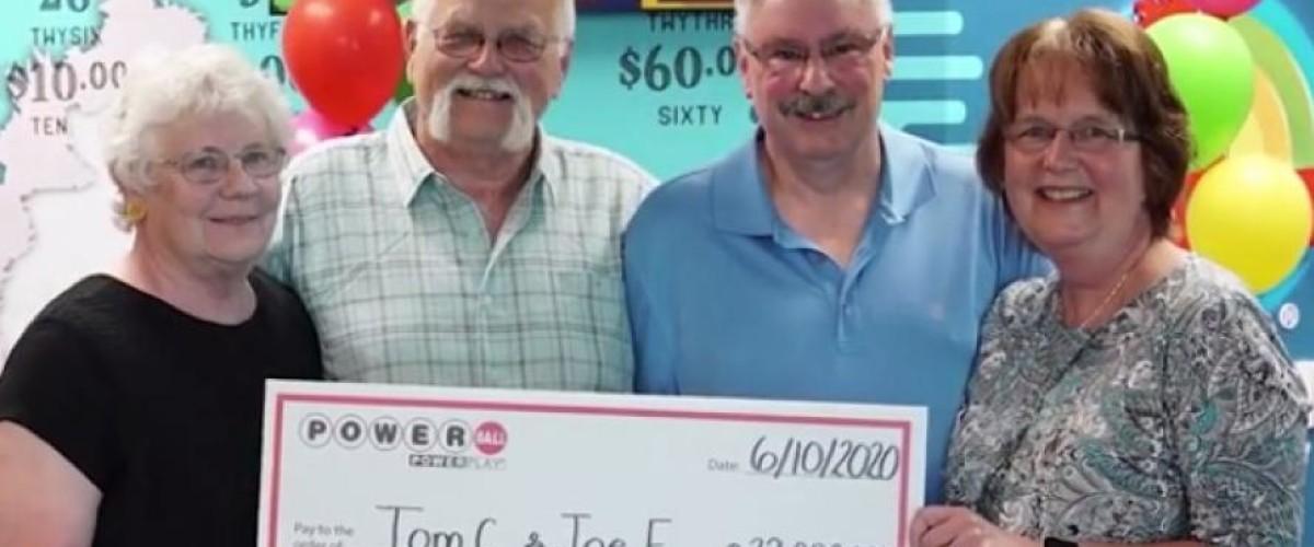 Amici del Wisconsin condividono il jackpot da 22 milioni al Powerball
