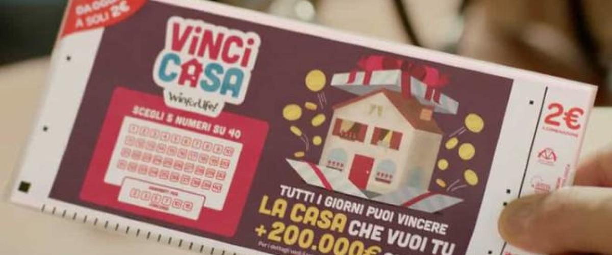 Colpo al VinciCasa grazie a una giocata online