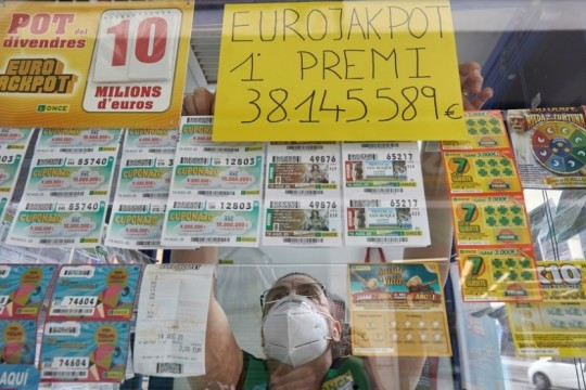 In due condividono 76,3 milioni di jackpot all'EuroJackpot