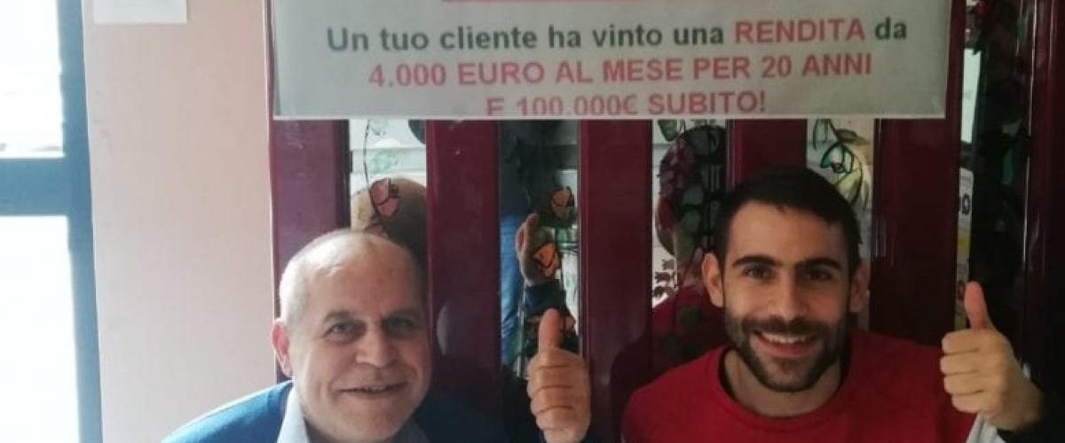 Assegnato il jackpot al Win for Life a Benetutti (Sassari)