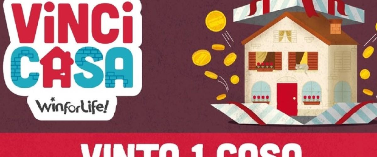 Vinto a Lecce il jackpot alla lotteria Vinci Casa