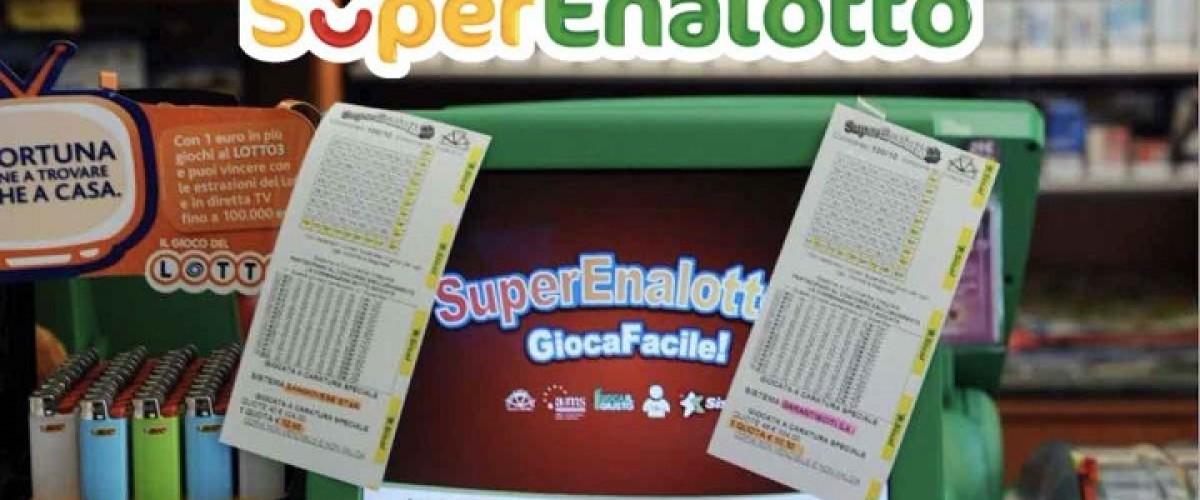 Superenalotto, a Pomezia un premio da 600 mila con un 5+1