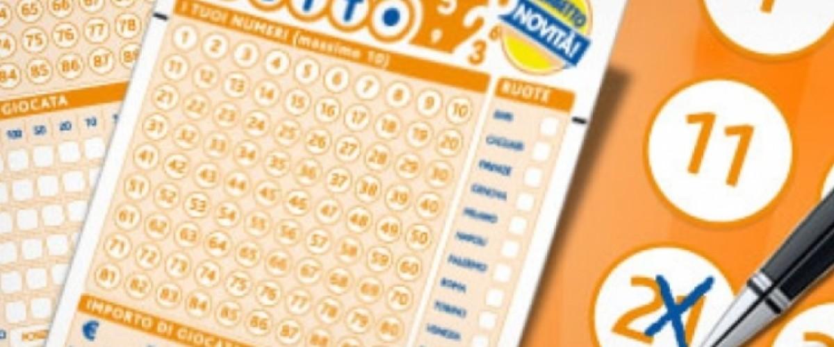 Lotto, a Bari una combinazione con cinquina da 104 mila euro
