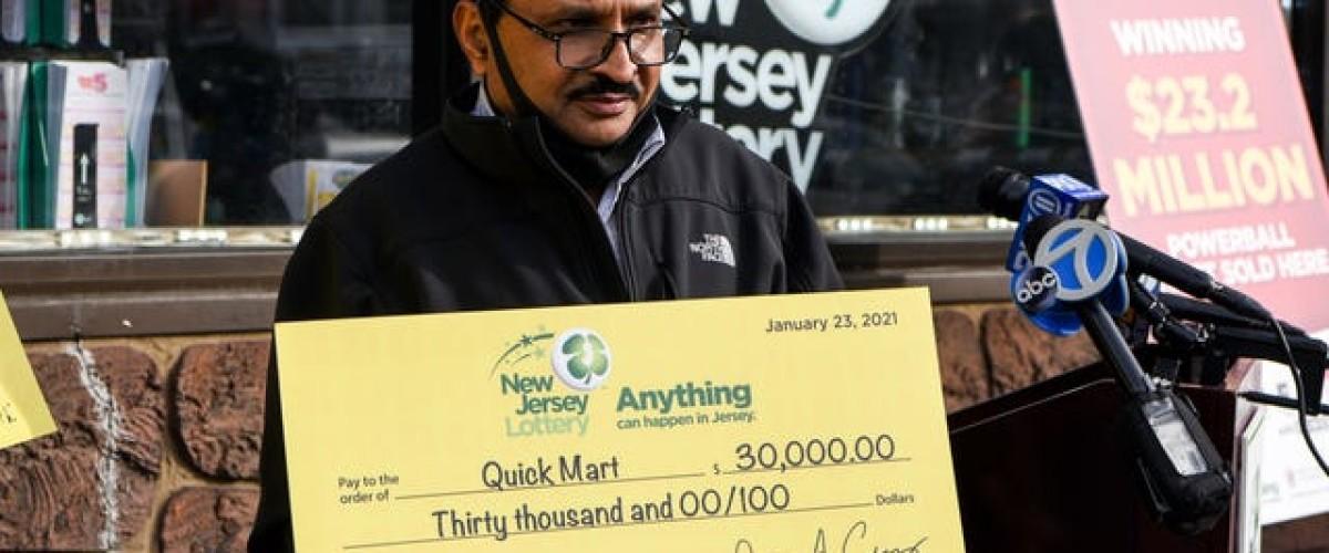 Ancora un jackpot al Powerball da 23 milioni a Clifton, New Jersey