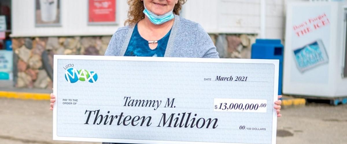 Lotto Max, canadese del B.C. vince 13 milioni di jackpot
