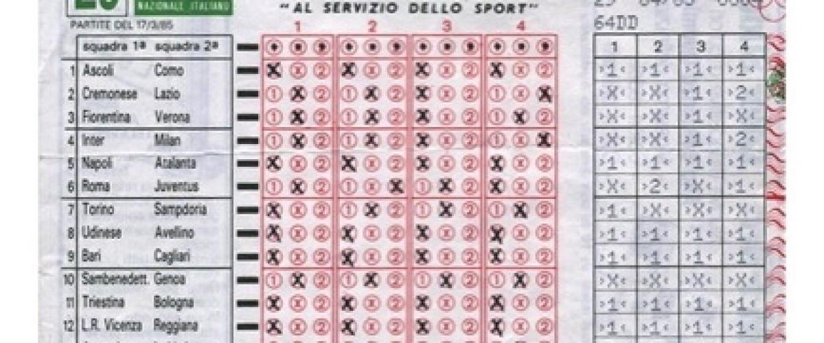 Sbanca al Totocalcio: giocatore marchighiano di Chiaravalle porta a casa 17 mila euro!